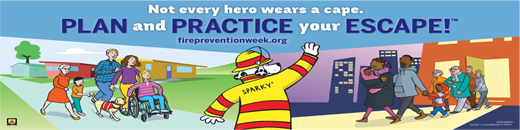 Fire Prevention Week 2018 from October 7-13