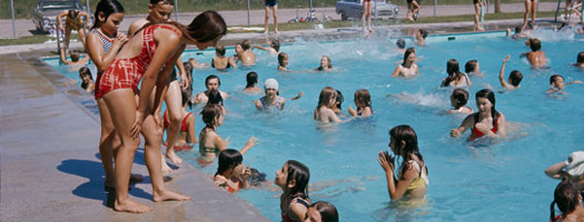Sargent Park Swimming Pool, 1965