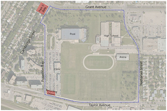 Grant Park Recreation Campus - Project Map