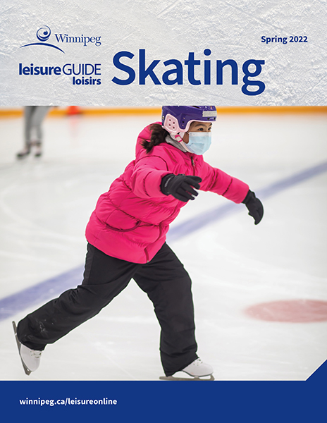 Leisure Guide Skating Brochure cover