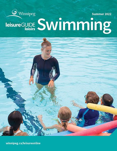 Leisure Guide Swimming Brochure cover