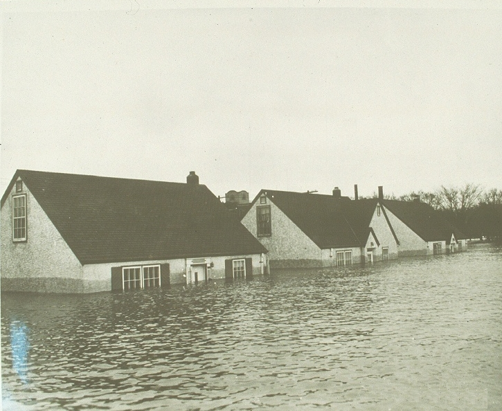 Scenes From The 1950 Flood Flood Of The Century