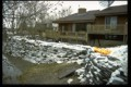 Avenue Lord - receded water at house, City of Winnipeg Photo.