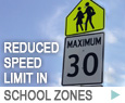 Reduced Speed Limit in School Zones