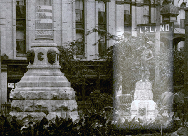 The Boy with the Boot statue was first displayed at Winnipeg City Hall in 1898 as part of a tribute to Queen Victoria.