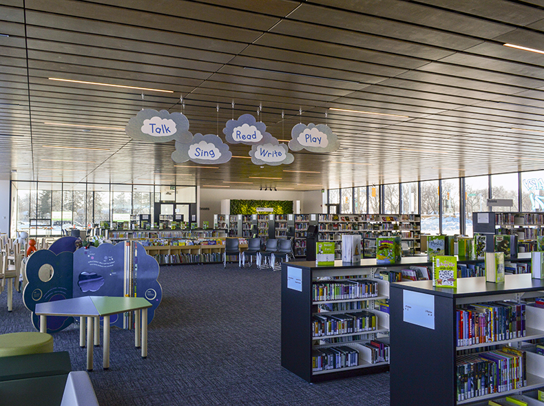 Transcona Library receives Three Green Globe certification