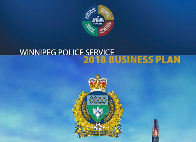 2018 Winnipeg Police Service Business Plan