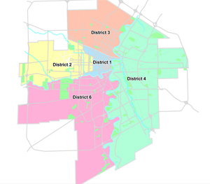 Click on a district to view the statistics...