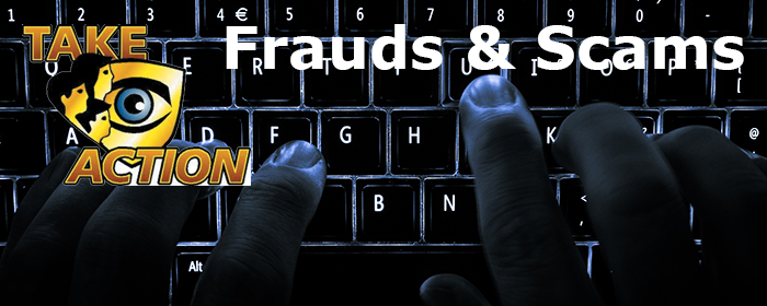 Frauds and Scams Keyboard