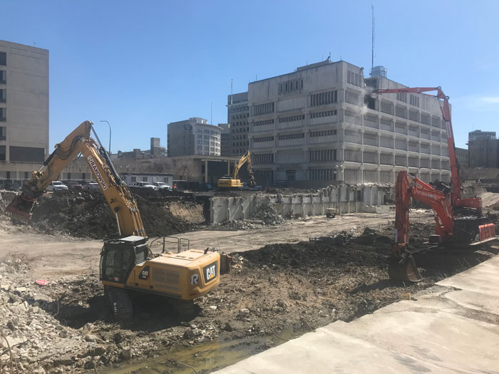 Market Lands Demo Photo April 29, 2020