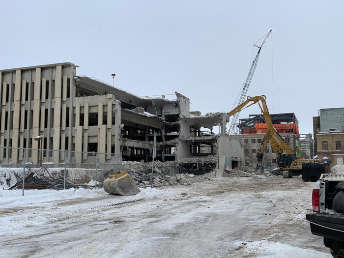 Market Lands Demo Photo January 22, 2020