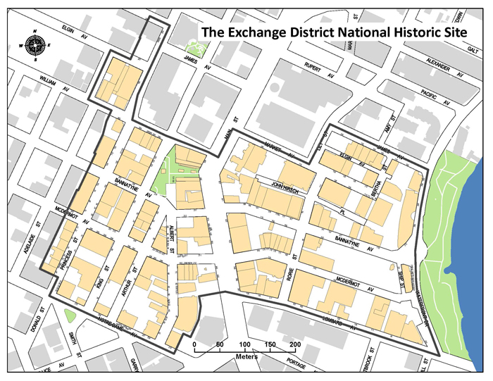 Exchange District National Historic Site Planning Property and