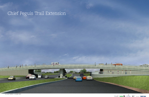 Chief Peguis Trail Extension Streetscape View 2