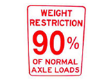 Spring Weight Restrictions