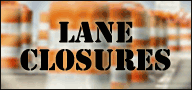 Regional Streets Lane Closures