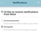 Waze Notifications