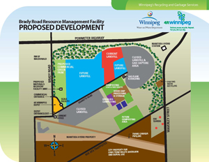 Brady Road Resource Management Facility Proposed Development
