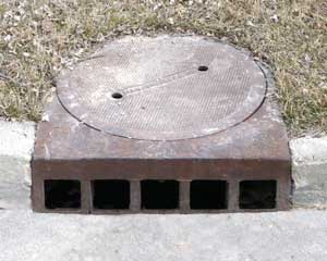 Manhole And Sewer Drains Catch Basin Photos Water And