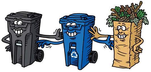 How do you find out your local garbage collection days?